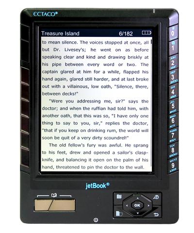 JetBook black Първият в света електронен четец с цветен дисплей – JetBook Color