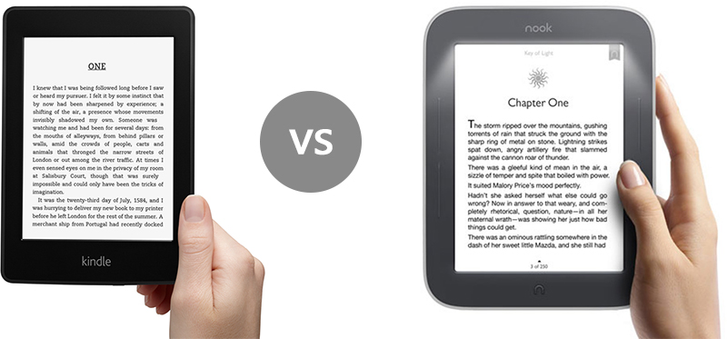 nook kindle paperwhite мнения цена електронен четец Kindle или Nook – кой да избера?