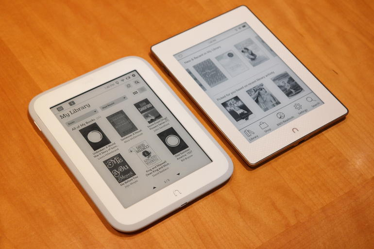 Nook Glowlight vs Nook Glowlight Plus
