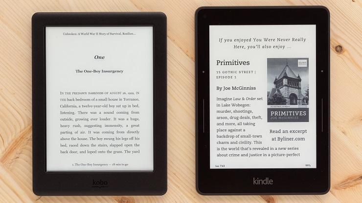 kobo-glo-hd-vs-kindle-voyage-електронна-книга