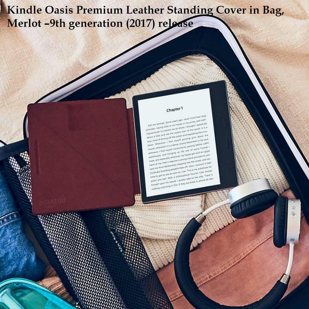 Kindle Oasis Merlot